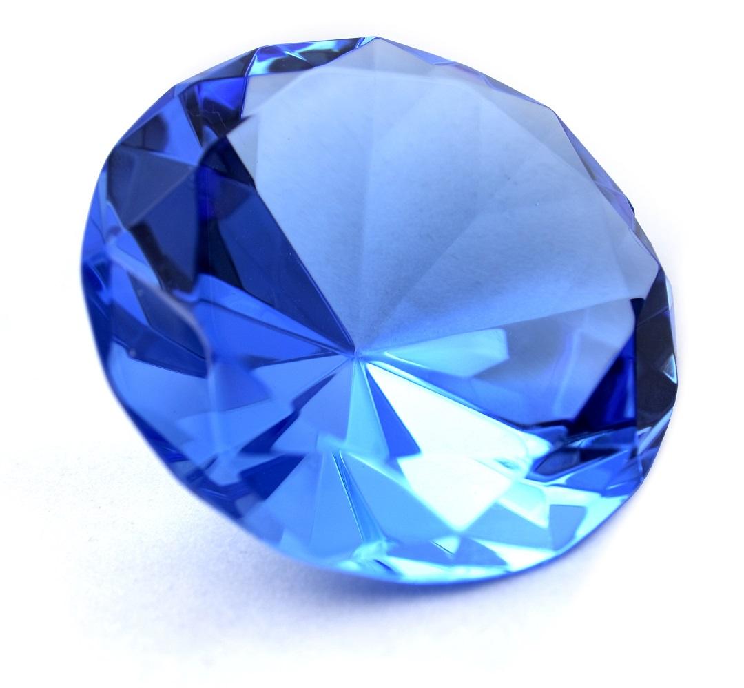 حجر الياقوت الأزرق