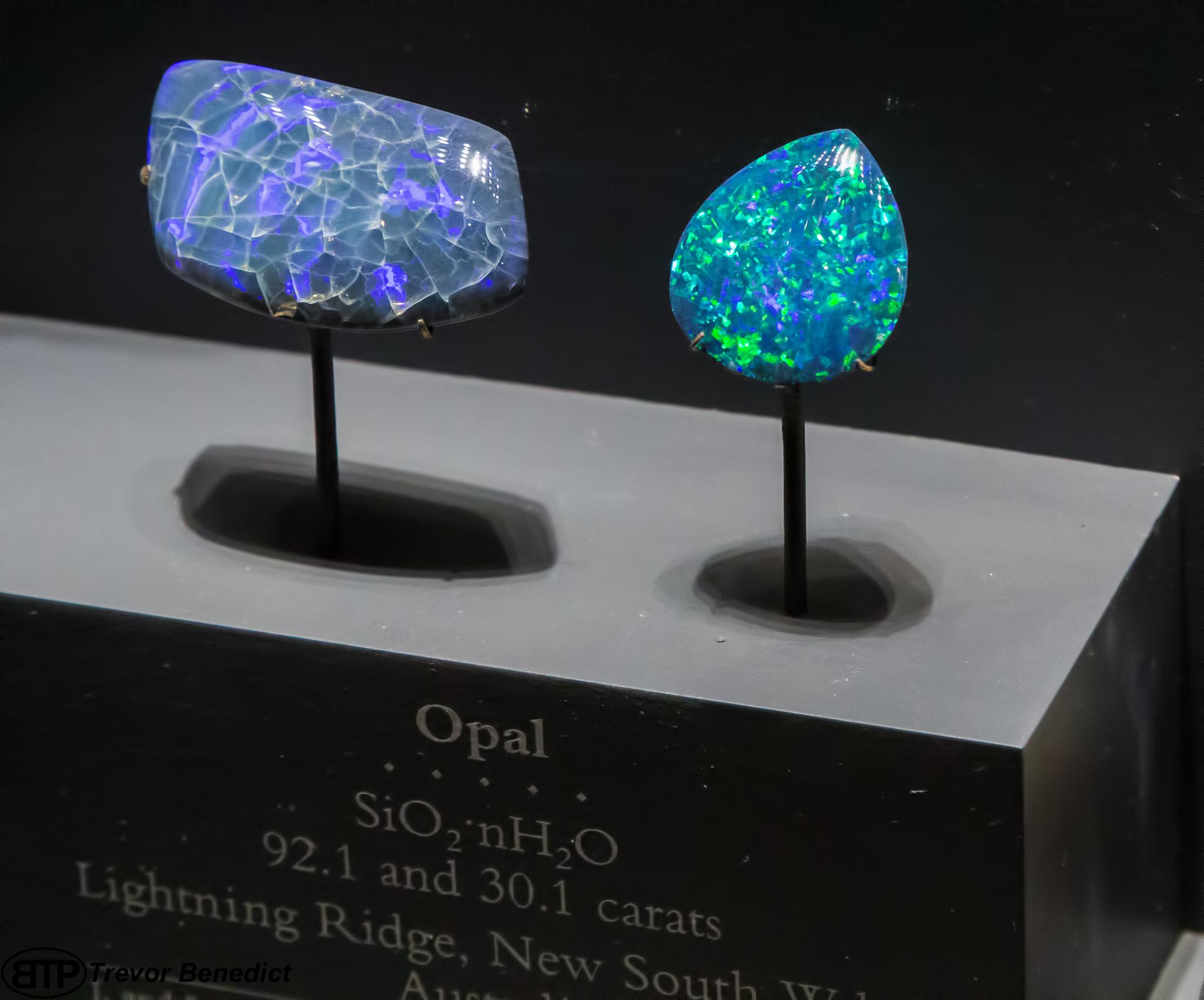 وسائل التعرف على حجر الأوبال الطبيعي