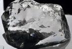 حجر الألماس الأسود الطبيعي