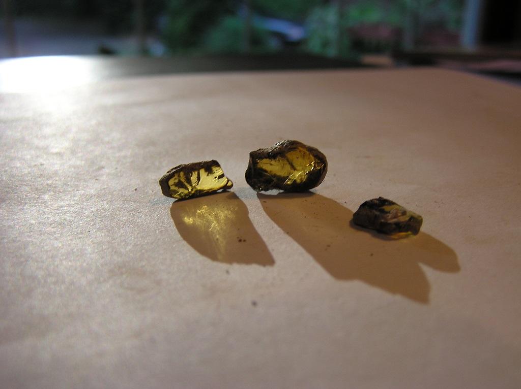 وسائل إكتشاف حجر الكهرمان الطبيعي