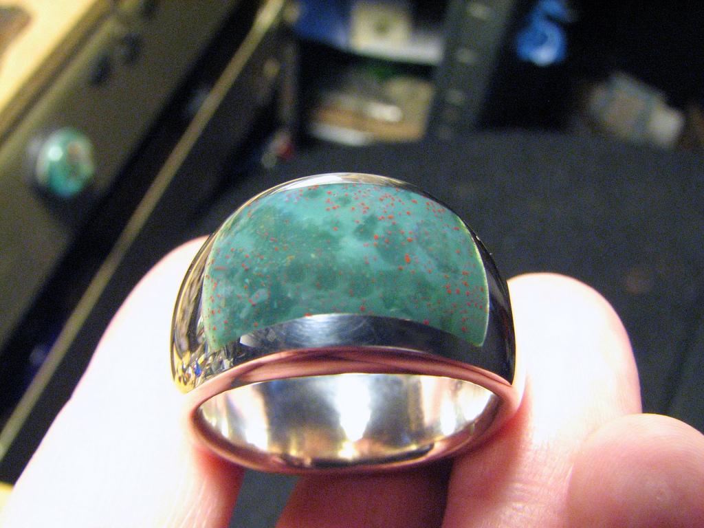 مظهر خاتم حجر الدم