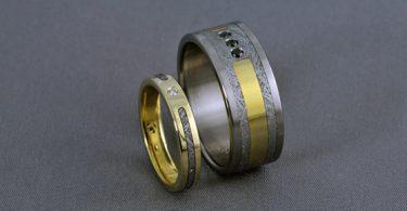 فوائد إرتداء خاتم حجر نيزكي