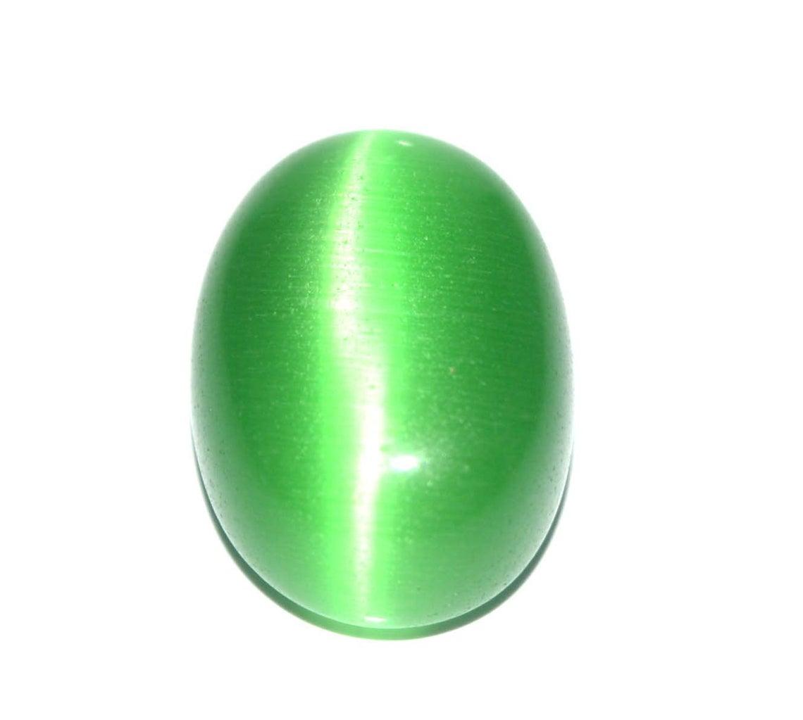 حجر عين القط أخضر