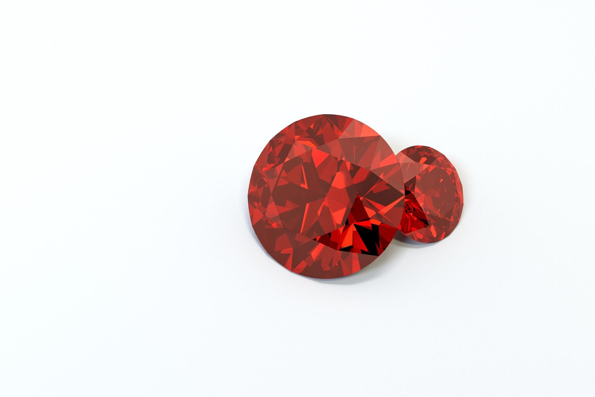 الفوائد المترتبة على إرتداء حجر الياقوت الأحمر