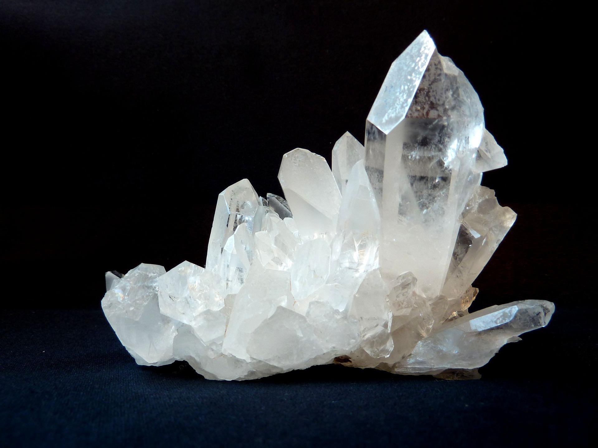 صخور معدن الكوارتز