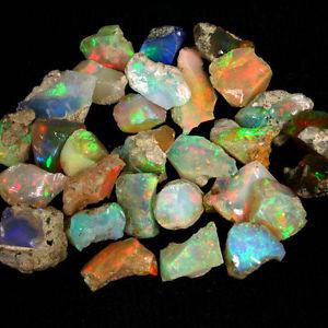 أحجار أوبال خام - كيف يتكون حجر الأوبال