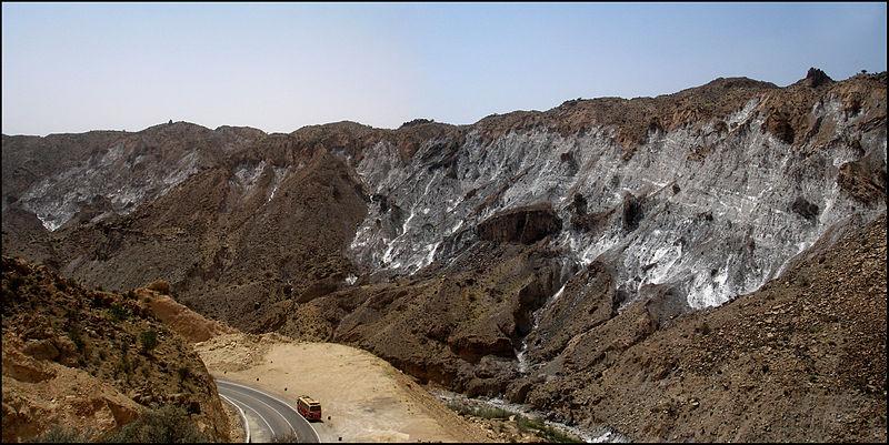 الصخور الملحية - صخور رسوبية كيميائية