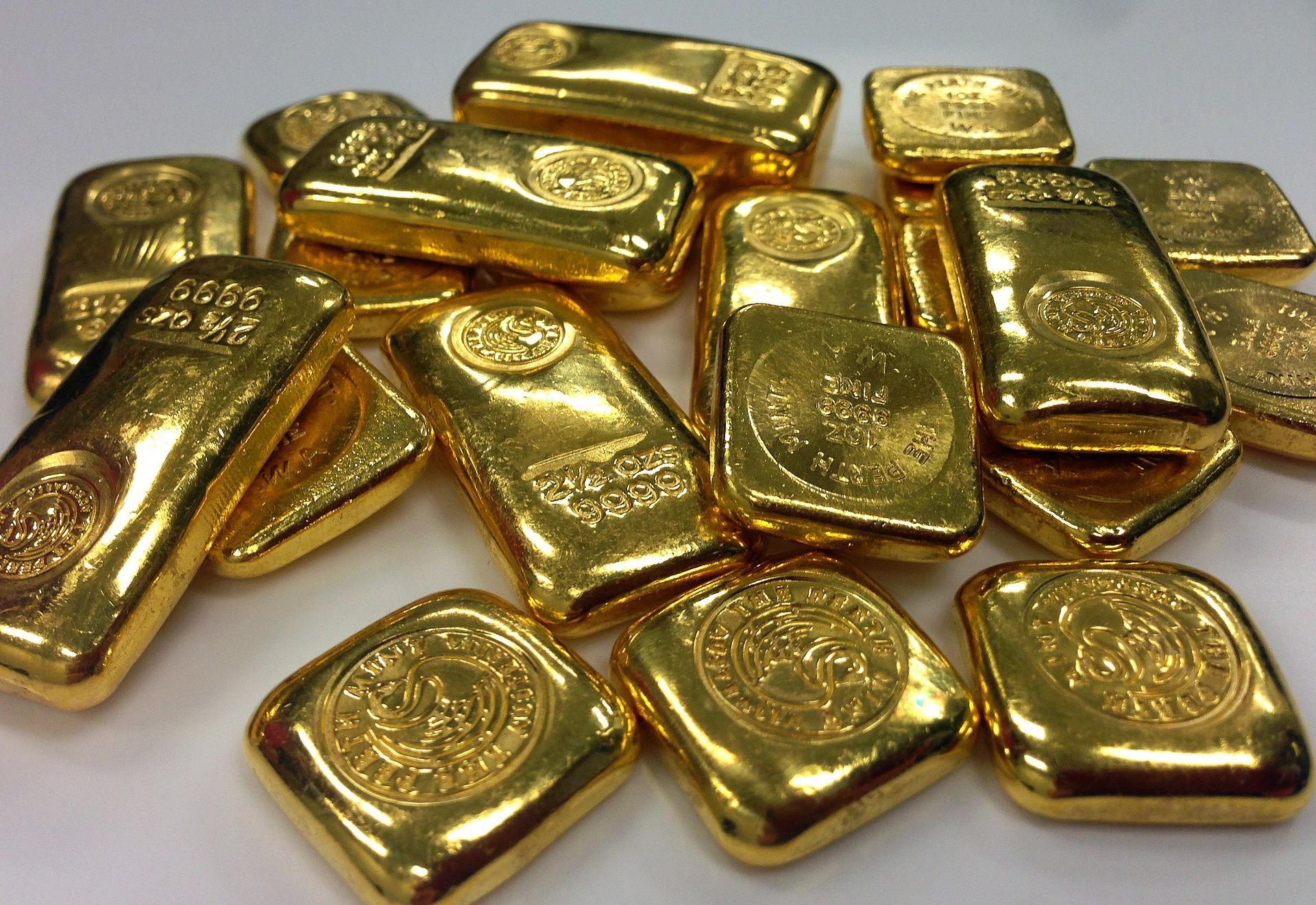 أكثر 10 دول لديها أكبر إحتياطي من الذهب بالترتيب