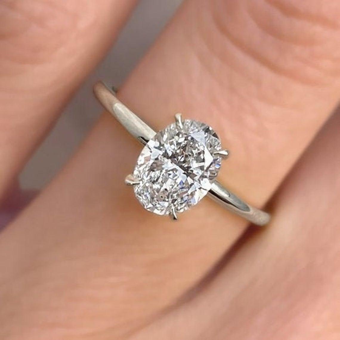 خاتم الماس أنيق التصميم
