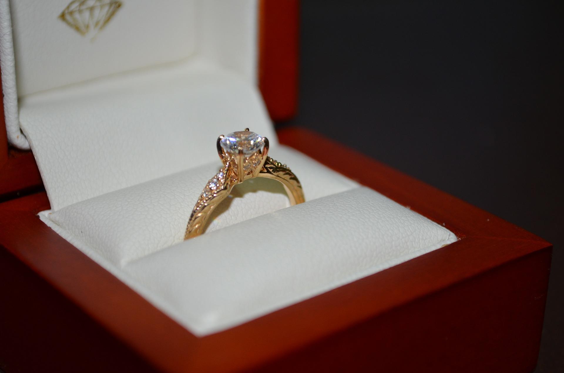 خاتم الماس للزواج