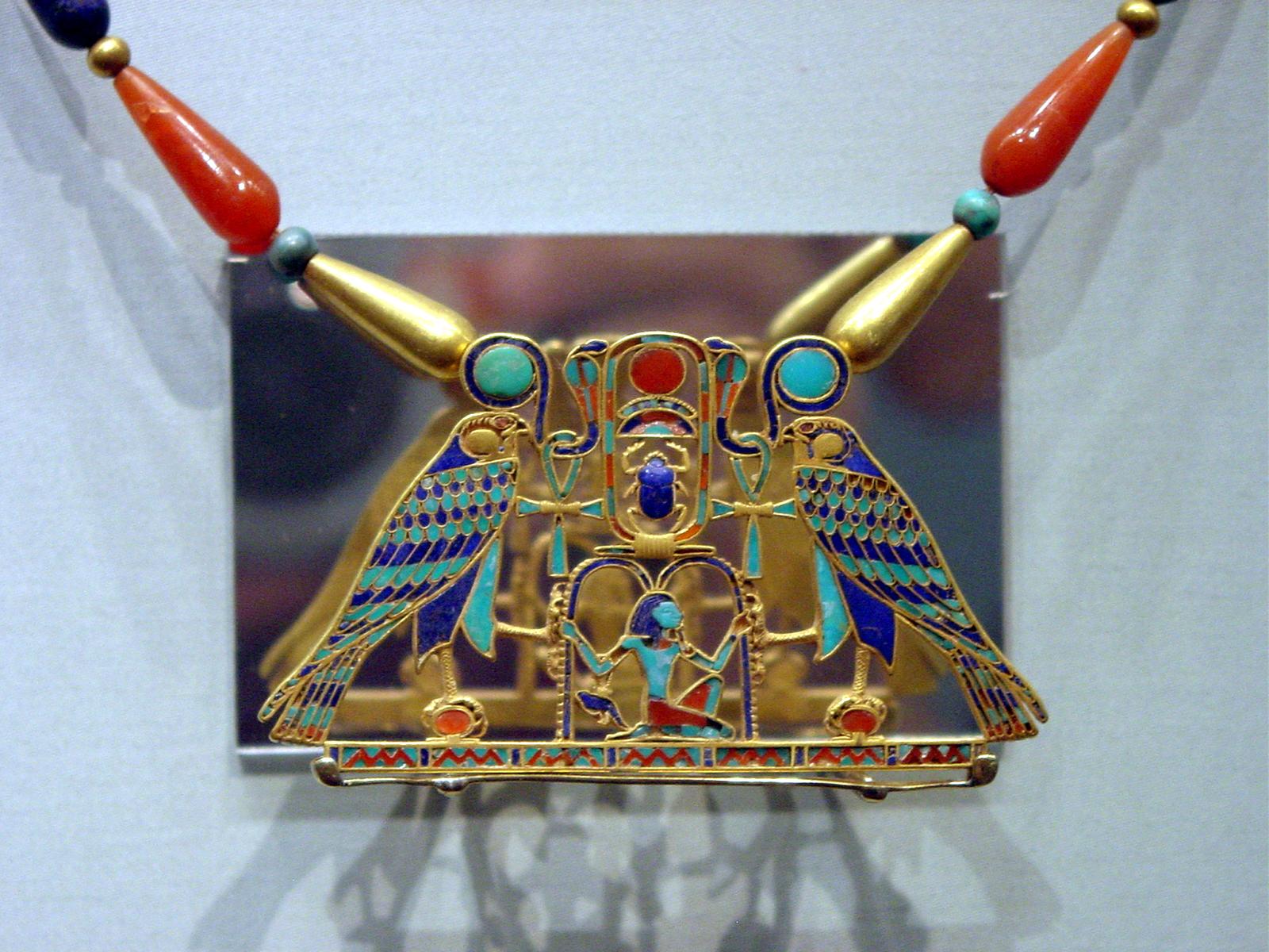 تاريخ العقيق الأحمر - مجوهرات فرعونية